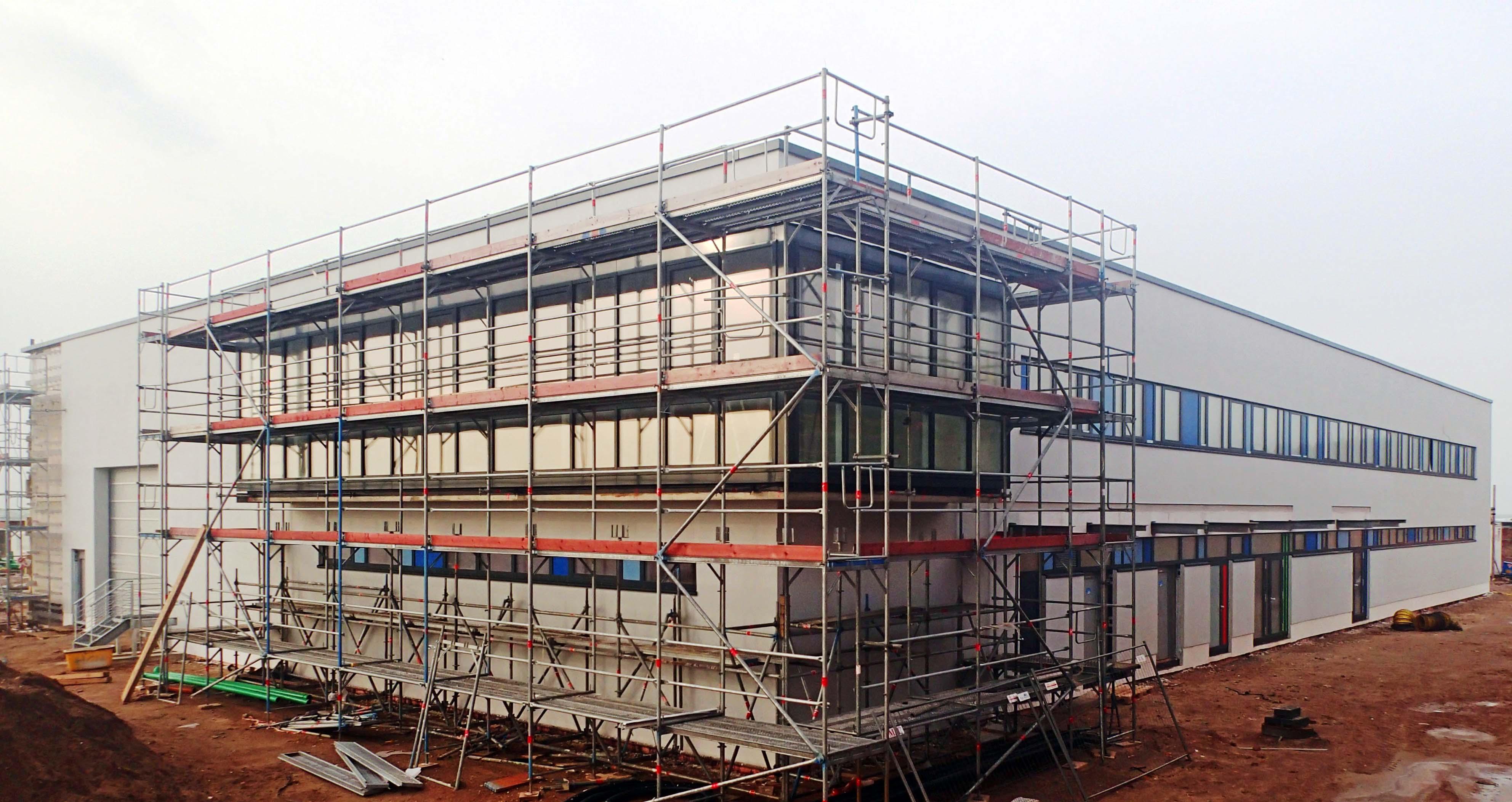 Ansicht des WindMW Werksgebäudes