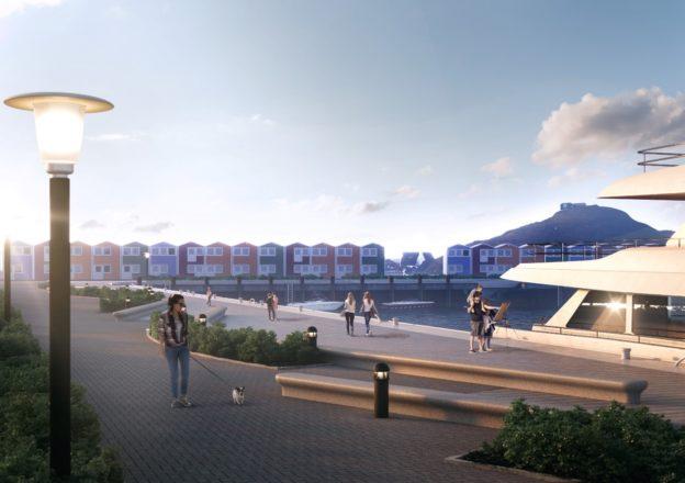 Bald geht es los: Das Südostufer im Binnenhafen soll ab September 2019 ganz neue Formen annehmen.