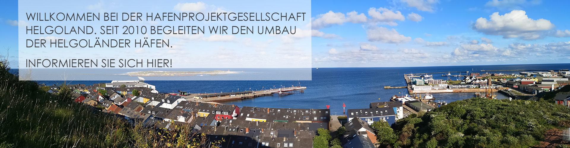 Offshore-Hafen Helgoland